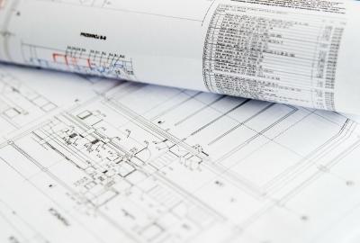 設計図の画像