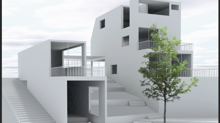 画像がよりリアルに!建築パースに木を合成する方法